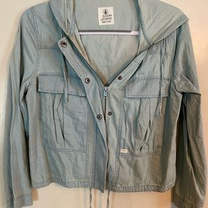 Volcom Light Wash Jean Jacket